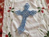 Segnalibro a croce in cotone medio