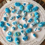Confetti Decorati Battesimo/Nascita Bimbo in Pasta di Zucchero