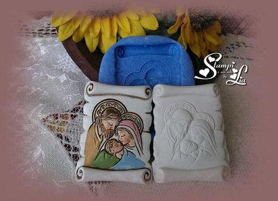 Stampo *Pergamena Sacra Famiglia*