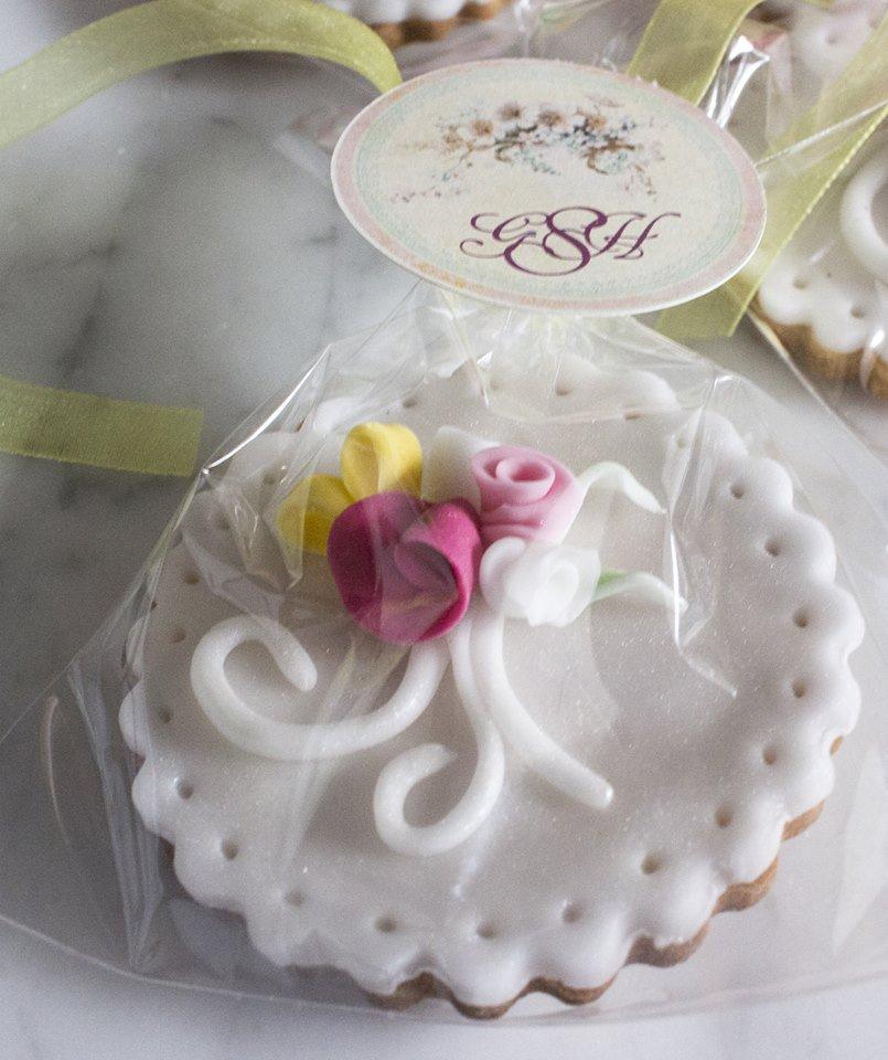 biscotti segnaposto decorati