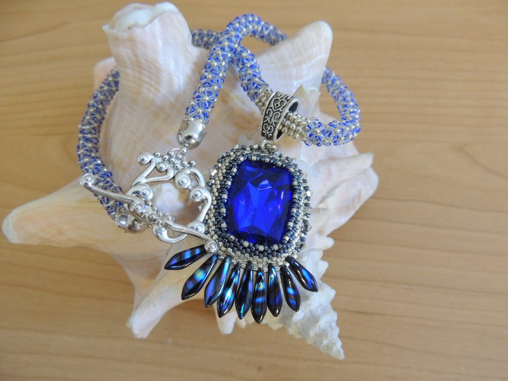 Collana blue - Brigitta