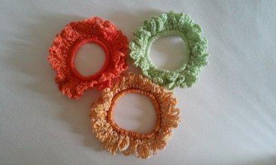 Set elastici per capelli dai colori vivaci