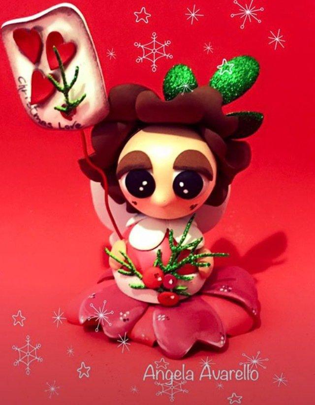 Folletto Natale, gomma crepla, fommy, cartamodelli, tutorial, pdf