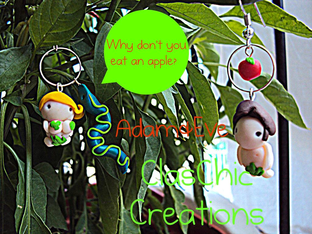 Orecchini Adamo&Eva