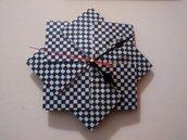 Orologio da parete origami, carta