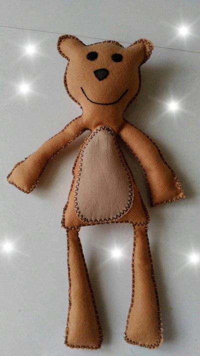 Teddy amico di topo tip bambini giocattoli di patty creation