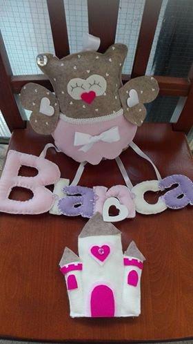 banner con nome del bambino utilizzabile come fiocco nascita