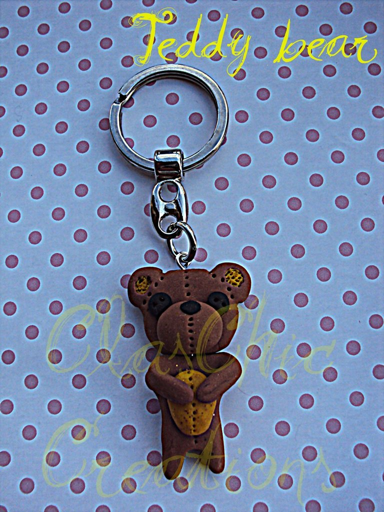 Portachiavi Teddy Bear
