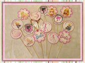 toppers tema barbie