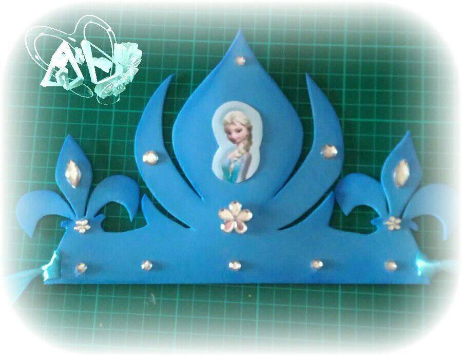 corona bambina frozen
