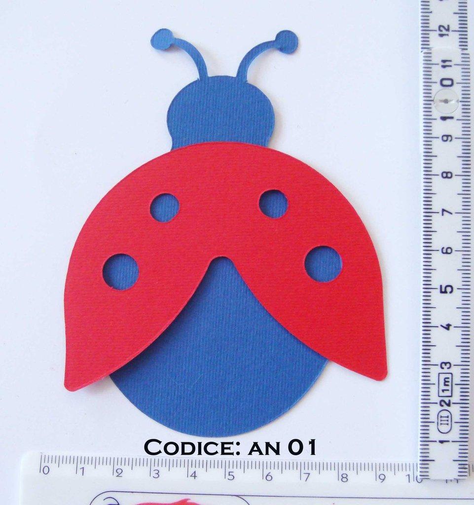 Fustellato Feltro Coccinella AN01