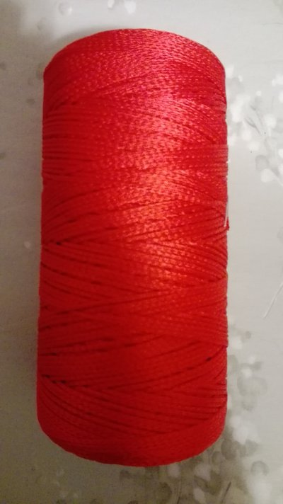 Cordino Thai rio rosso lucido