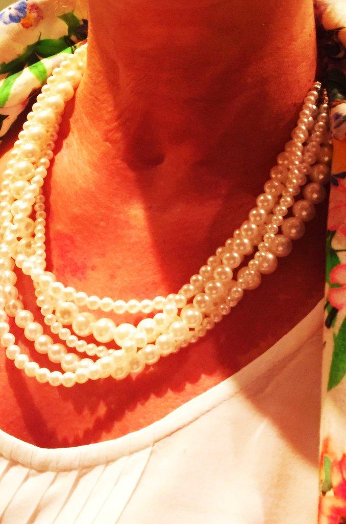 Collana Multifili di Perle