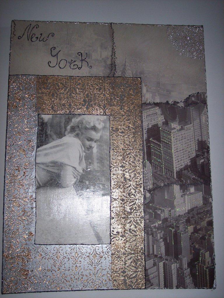 Marilyn, balcone con vista su New York