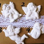 angeli in gesso ceramico