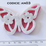 Fustellato Feltro Farfalla  AN03
