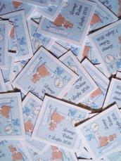 bigliettini bomboniere orsetto