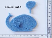 Fustellato Feltro Balena AN05