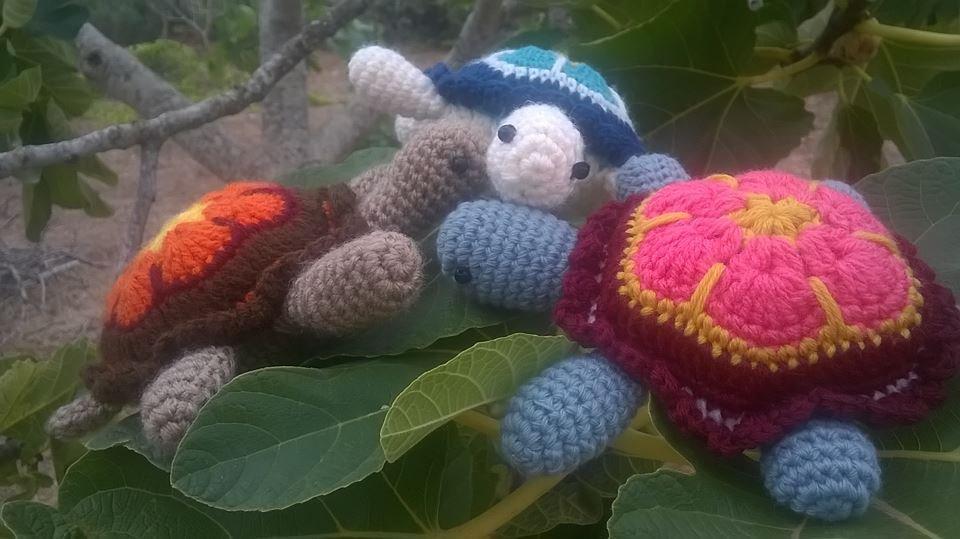 Tartarughe multicolor amigurumi per la casa e per te for Oggetti per tartarughe