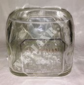 Vaso da Bottiglia di Tequila Patron Silver. riciclo creativo riuso idea regalo arredo design