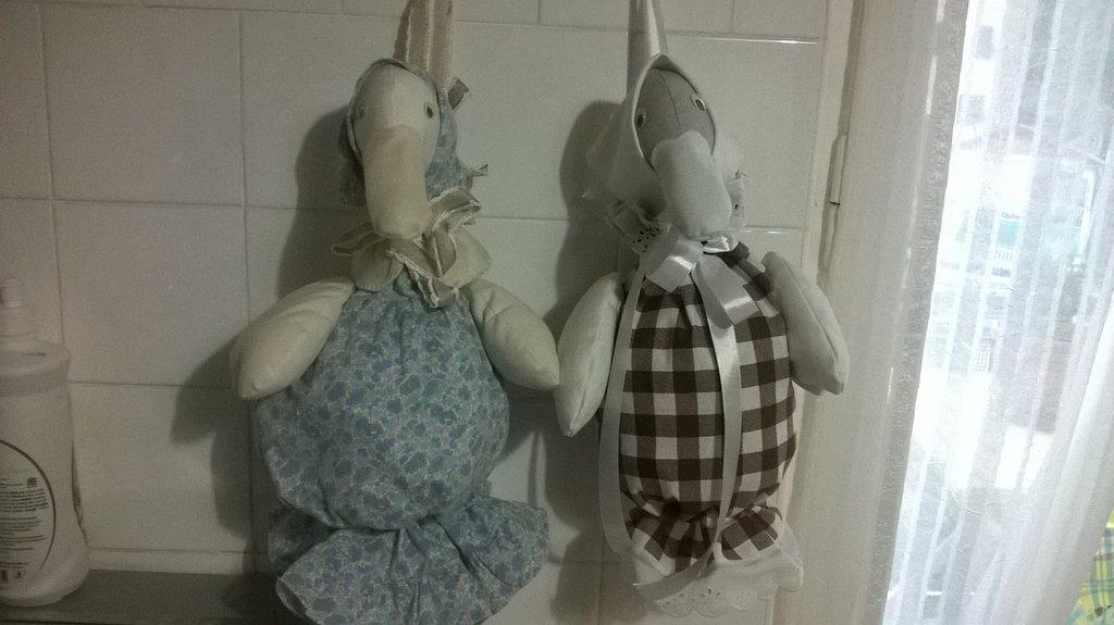 Papere porta sacchetti o pigiama