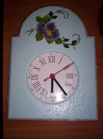 orologio con fiori