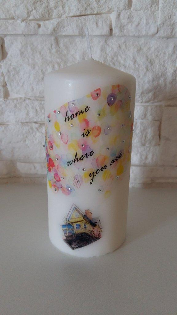 candela personalizzata home