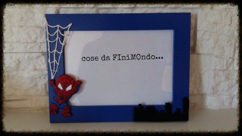 cornice spiderman in fimo