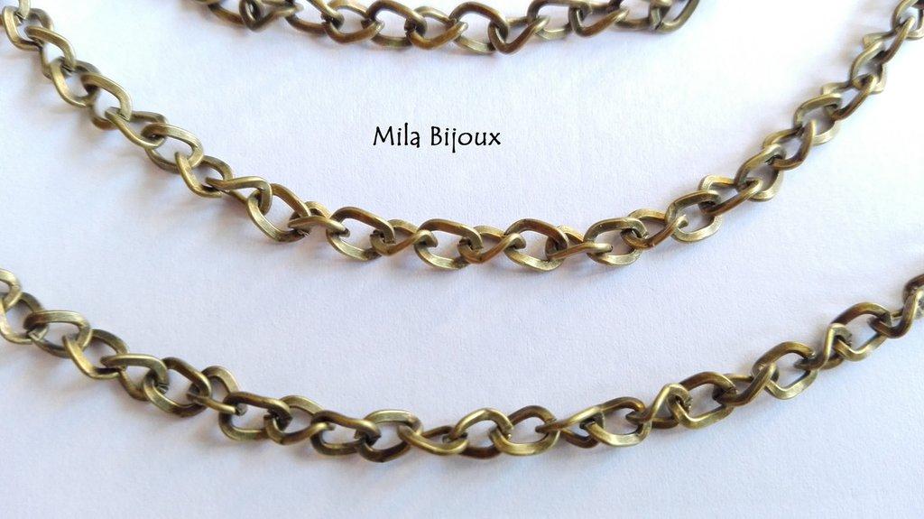 catena twist bronzo 20 cm
