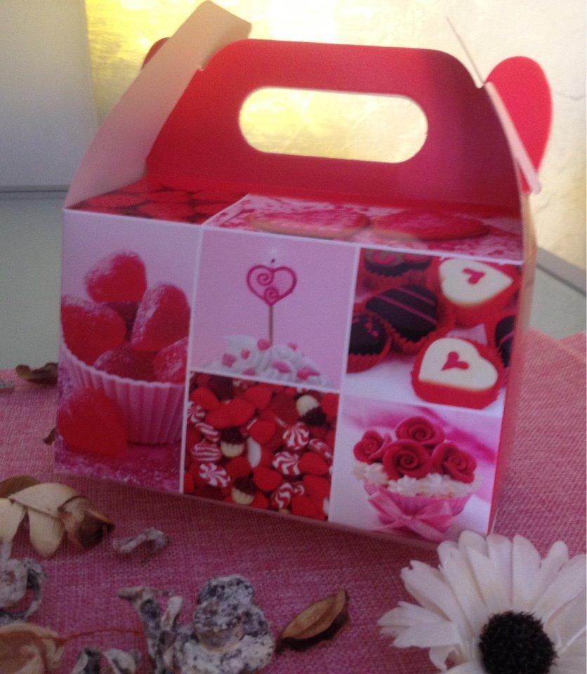 scatola per confezione regalo