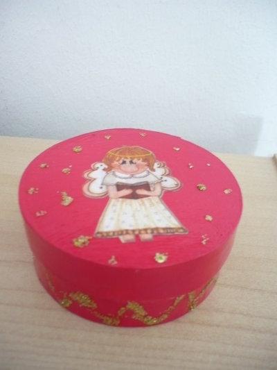 scatola rossa angelo