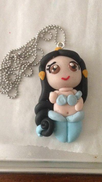 Collana ciondolo jasmine