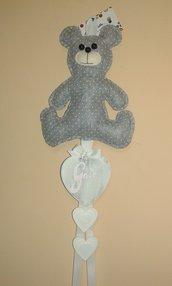 Fiocco nascita teddy bear
