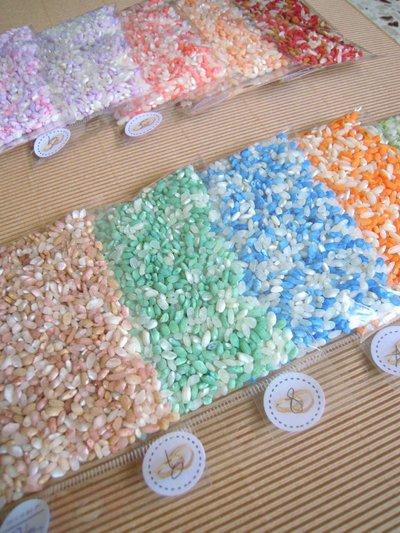 riso sposi colorato 2 kg