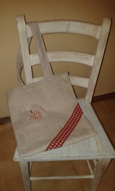 Shopper bag natalizia