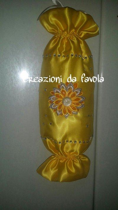 Portasacchetti con fiore