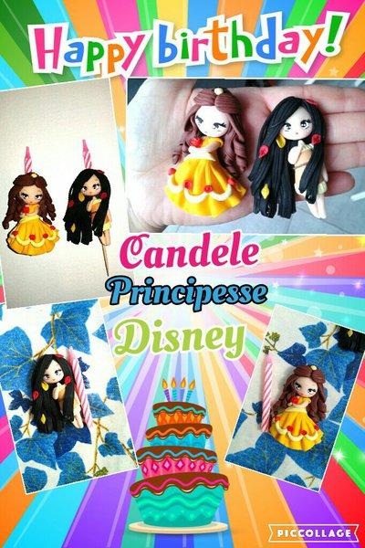 candele torta personalizzate