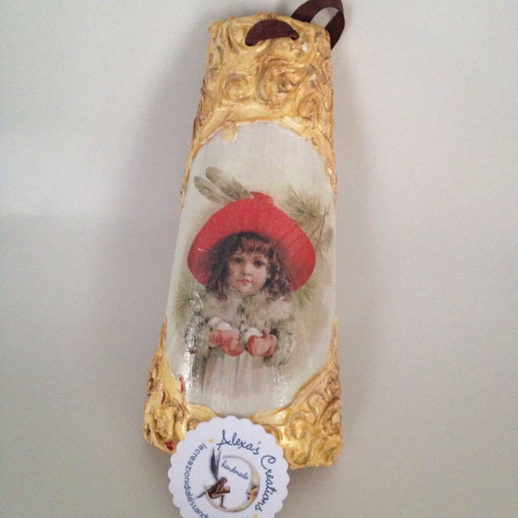 tegola con cornice vintage