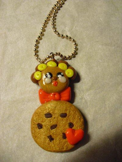 ciondolo signora biscotto
