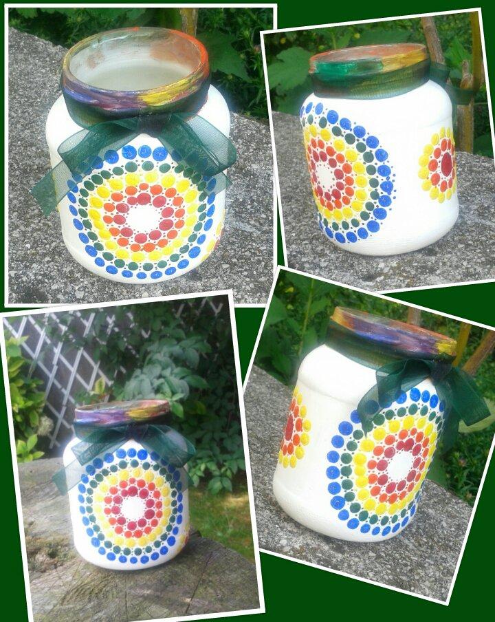 Vasetti decorativi in vetro