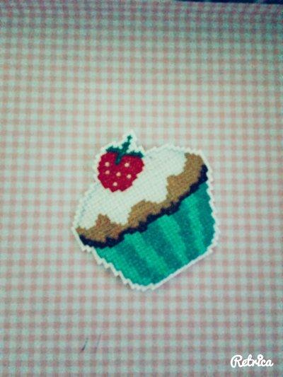 Calamita a forma di cupcake