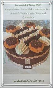 Tutorial per la realizzazione di una torta saint honore in feltro - versione pdf