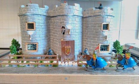 Castello con ponte levatoio