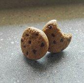 Orecchini lobo biscotti fimo