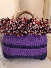 Doppia shopper multicolor