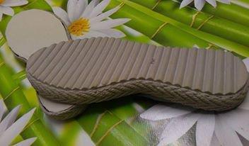 SUOLA PER SCARPETTA bimbi beige modello 4 cm 20