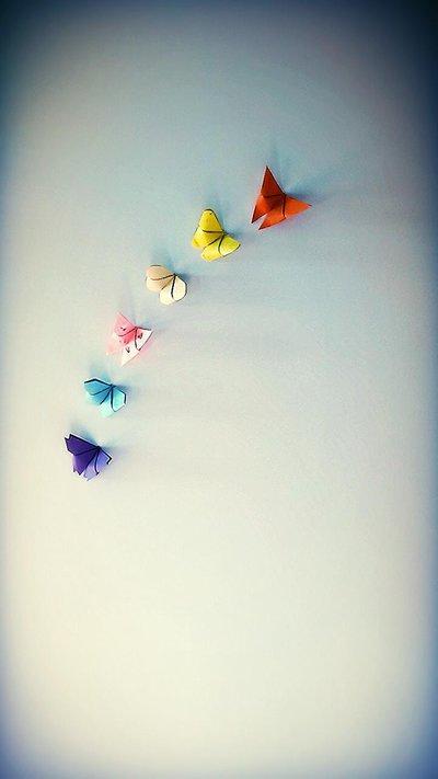 *Farfalle origami segnaposto*