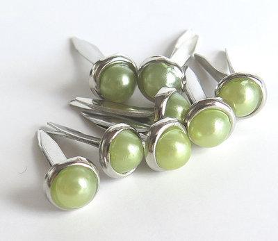 4 Perle PINS VERDE PRL259