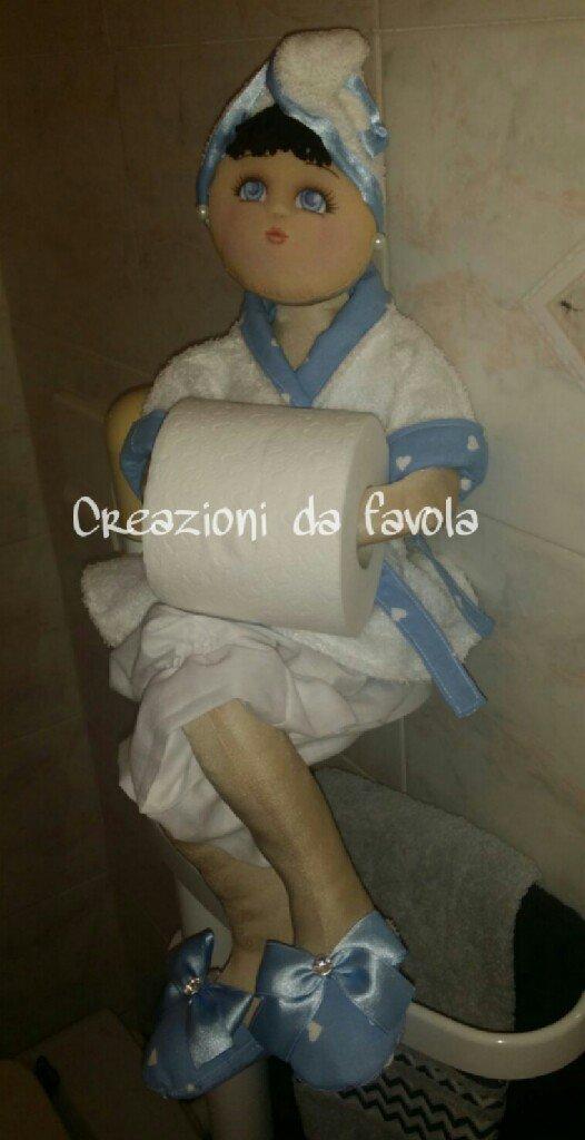 Bambola portarotolo vanity