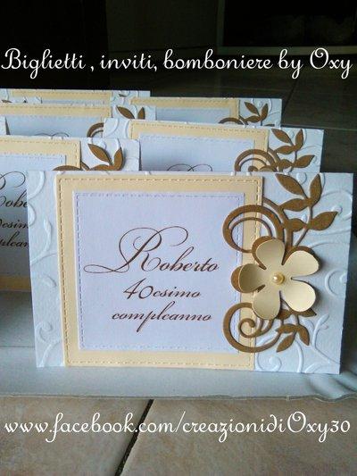Biglietto di ringraziamento-Matrimonio, Battesimo, Comunione, Compleanno.
